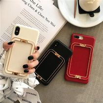 Monoglam Unisex Tassel Plain Smart Phone Cases