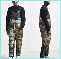 THE NORTH FACE Nuptse Printed Pants Street Style Bottoms