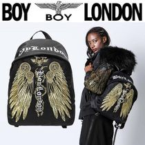 BOY LONDON Casual Style Unisex Street Style Other Animal Patterns