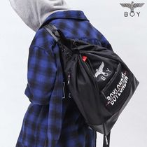 BOY LONDON Unisex Street Style Other Animal Patterns Backpacks