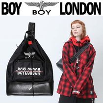 BOY LONDON Casual Style Unisex Street Style Other Animal Patterns Bags