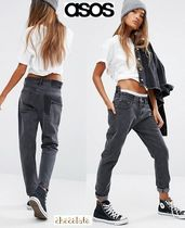 ASOS Casual Style Denim Street Style Plain Long Jeans