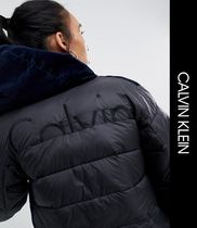 Calvin Klein Casual Style Blended Fabrics Street Style Jackets