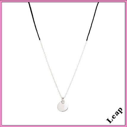 Casual Style Unisex Coin Handmade Silver