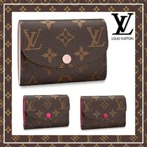 Louis Vuitton Monoglam Leather Coin Purses
