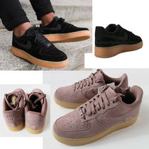 Nike AIR FORCE 1 Unisex Suede Low-Top Sneakers