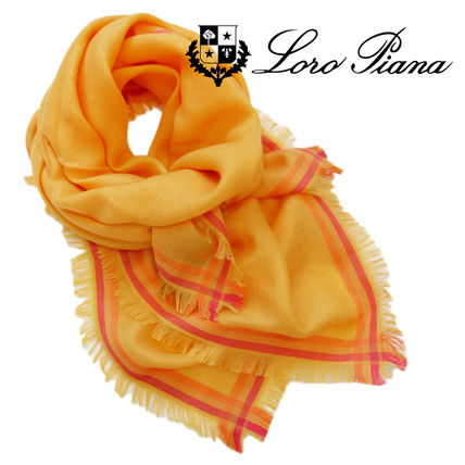 Cashmere Plain Office Style Lightweight Scarves & Shawls