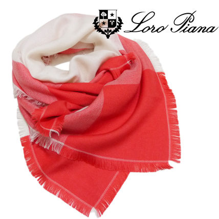 Cashmere Bi-color Office Style Lightweight Scarves & Shawls