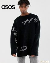 ASOS Crew Neck Street Style Long Sleeves Oversized