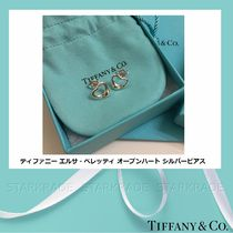 Tiffany & Co OPEN HEART Casual Style Silver Fine