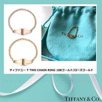 Tiffany & Co Tiffany T 18K Gold Elegant Style Fine