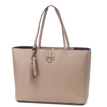 Tory Burch Plain Leather Totes