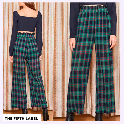 Other Check Patterns Long Pants