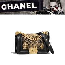 CHANEL 2WAY Leather Shoulder Bags