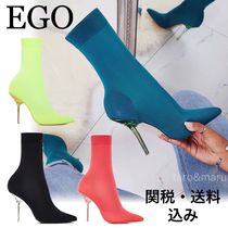 EGO Plain Pin Heels Ankle & Booties Boots