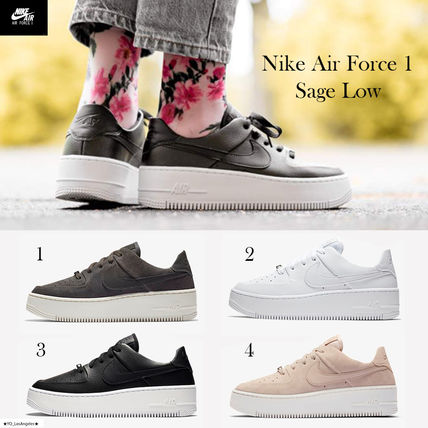bbc26c56ff1 Nike AIR FORCE 1 2018-19AW Street Style Low-Top Sneakers by ...