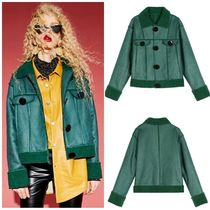 ELF SACK Casual Style Street Style Jackets