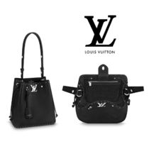 Louis Vuitton LOCKME 2WAY Leather Handbags