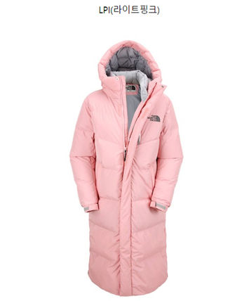 THE NORTH FACE Down Jackets Unisex Street Style Plain Long Down Jackets 7