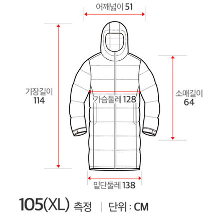 THE NORTH FACE Down Jackets Unisex Street Style Plain Long Down Jackets 9