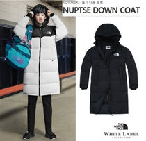 THE NORTH FACE Unisex Street Style Bi-color Long Down Jackets