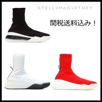 Stella McCartney Round Toe Casual Style Street Style Low-Top Sneakers