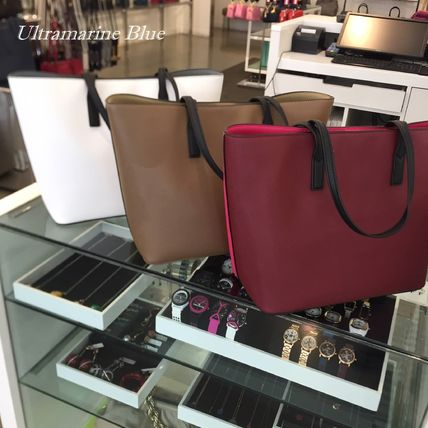 Bi-color PVC Clothing Formal Style  Totes