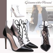 Gianvito Rossi Leather High Heel Boots
