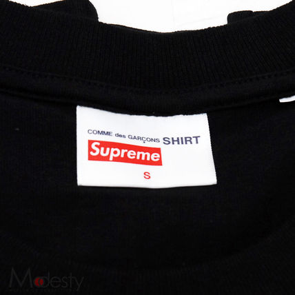 Supreme More T-Shirts Street Style Collaboration Plain Short Sleeves T-Shirts 6