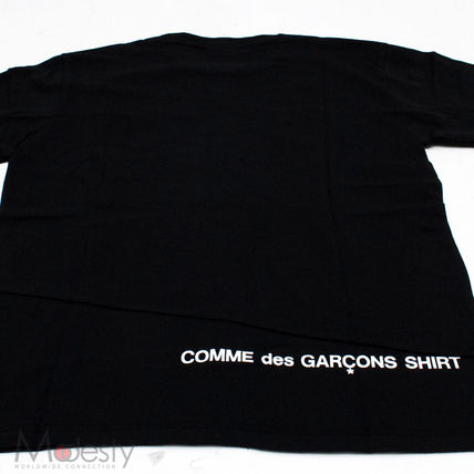 Supreme More T-Shirts Street Style Collaboration Plain Short Sleeves T-Shirts 3