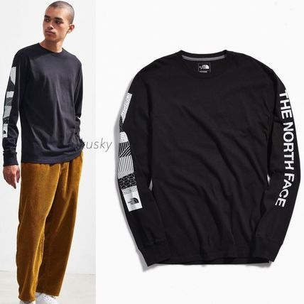 THE NORTH FACE Long Sleeve Long Sleeves Cotton Logos on the Sleeves Long Sleeve T-shirt
