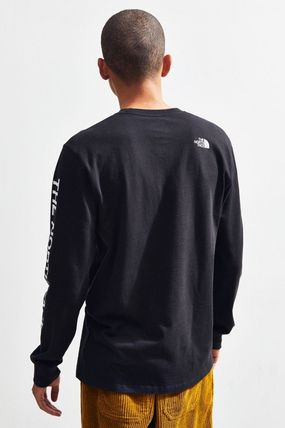 THE NORTH FACE Long Sleeve Long Sleeves Cotton Logos on the Sleeves Long Sleeve T-shirt 3