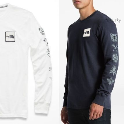 THE NORTH FACE Long Sleeve Long Sleeves Cotton Logos on the Sleeves