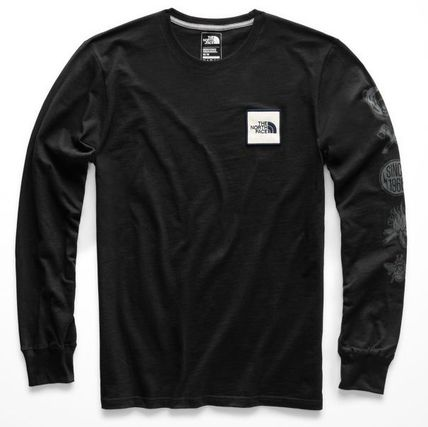 THE NORTH FACE Long Sleeve Long Sleeves Cotton Logos on the Sleeves 2