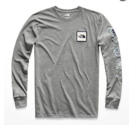 THE NORTH FACE Long Sleeve Long Sleeves Cotton Logos on the Sleeves 4