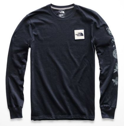 THE NORTH FACE Long Sleeve Long Sleeves Cotton Logos on the Sleeves 5