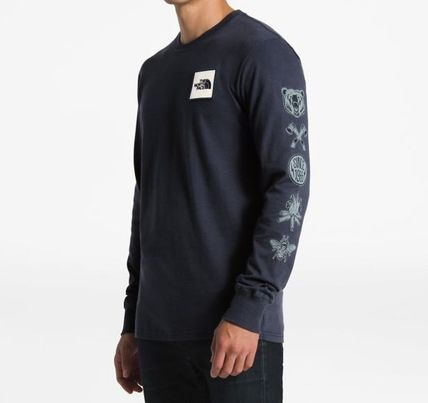 THE NORTH FACE Long Sleeve Long Sleeves Cotton Logos on the Sleeves 6