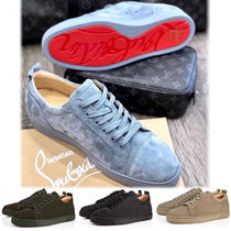 Christian Louboutin Suede Plain Sneakers