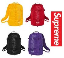Supreme Nylon A4 Plain Backpacks