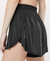 lululemon Short Casual Style Blended Fabrics Plain Shorts