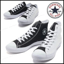 CONVERSE ALL STAR Plain Toe Rubber Sole Casual Style Unisex Street Style