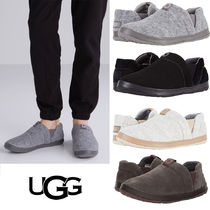 UGG Australia Suede Blended Fabrics Street Style Loafers & Slip-ons