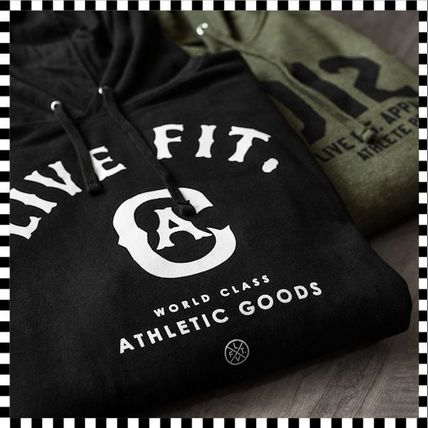 Live Fit Hoodies Pullovers Unisex Long Sleeves Plain Cotton Hoodies 3