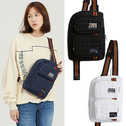 Casual Style Unisex Street Style 2WAY Plain Bags