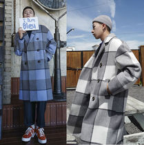 Gingham Glen Patterns Street Style Long Oversized