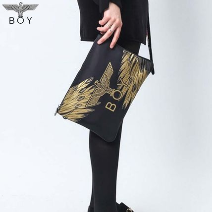 Casual Style Unisex Street Style 2WAY Other Animal Patterns