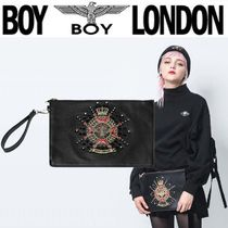 BOY LONDON Unisex Street Style Other Animal Patterns Clutches