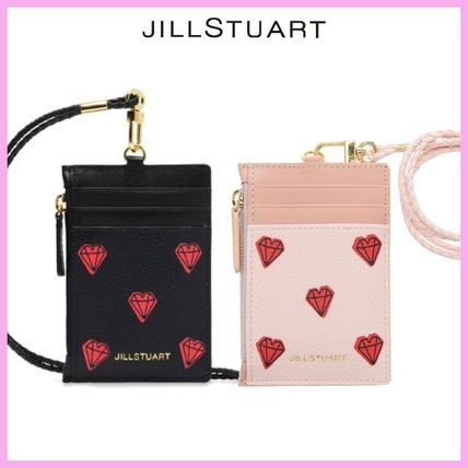 Heart Leather Card Holders