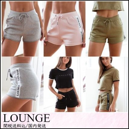 Short Cotton Khaki Denim & Cotton Shorts