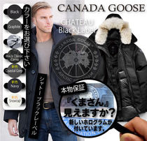 CANADA GOOSE CHATEAU Camouflage Plain Down Jackets